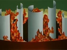 Anno: 2005 Tecnica: olio su tela Dimensione: 100x50 cm