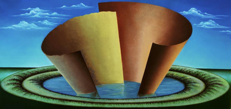 Anno: 2009 Tecnica: olio su tela Dimensione: 100x50 cm