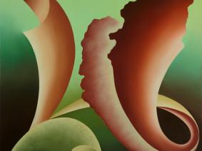 Anno: 2007 Tecnica: olio su tela Dimensione: 70x70 cm