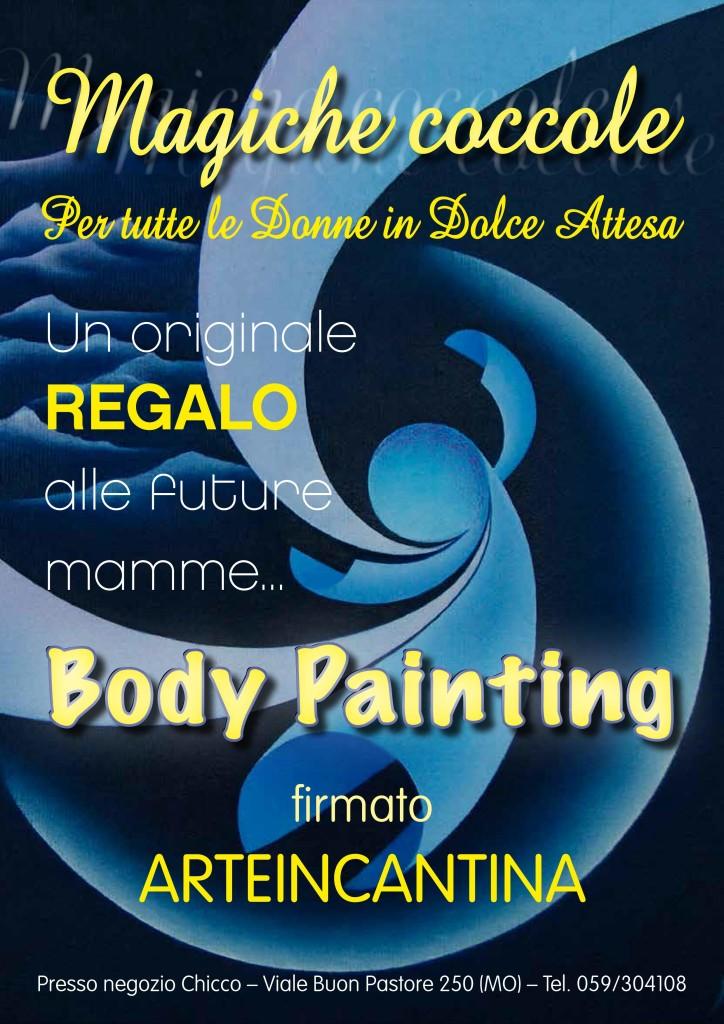 Locandina Body Paiting